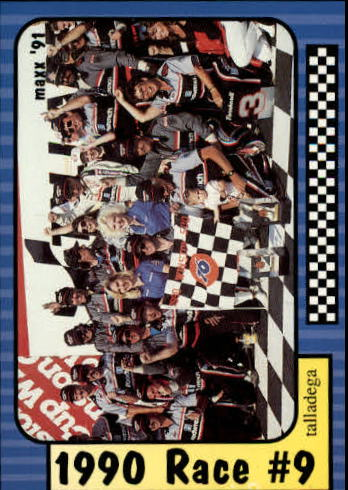 1991 Maxx #178 Dale Earnhardt/Year in Review