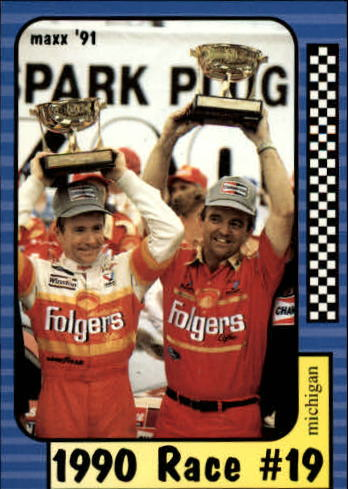 1991 Maxx #189 Mark Martin/Year in Review