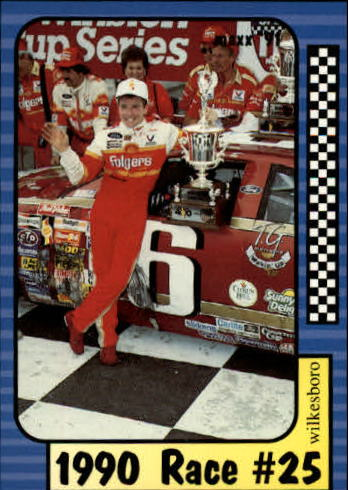 1991 Maxx #195 Mark Martin/Year in Review