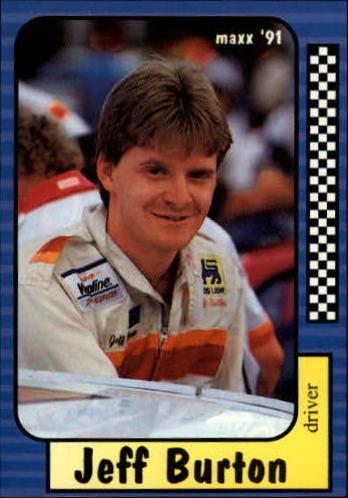 1991 Maxx #201 Jeff Burton RC