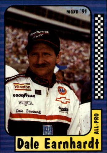 1991 Maxx #220 Dale Earnhardt All Pro
