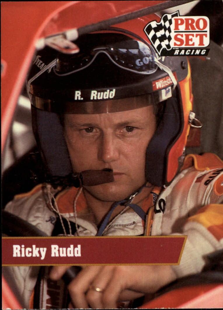1991 Pro Set #17 Ricky Rudd