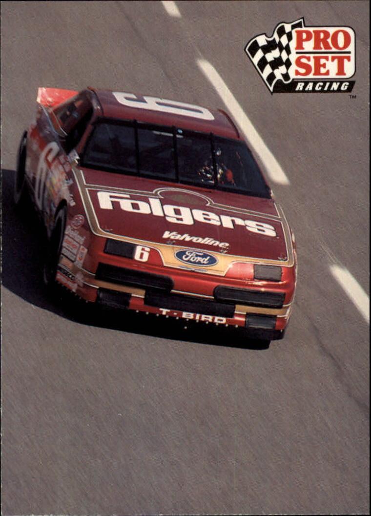 1991 Pro Set #25 Mark Martin's Car