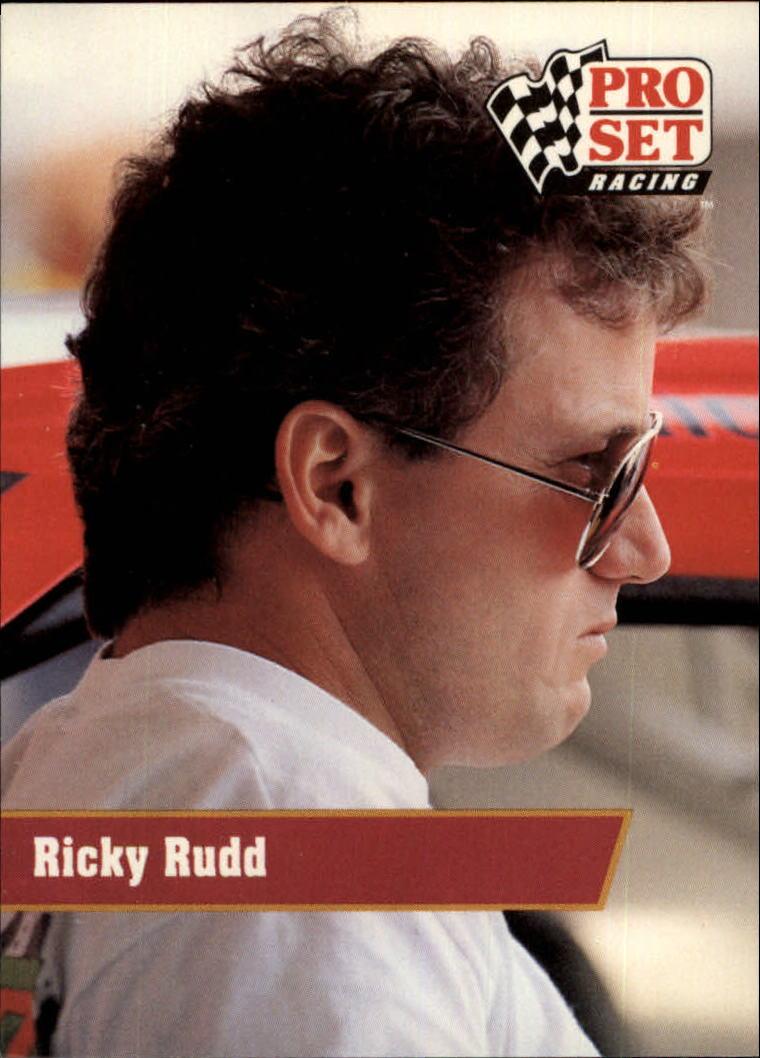 1991 Pro Set #128 Ricky Rudd