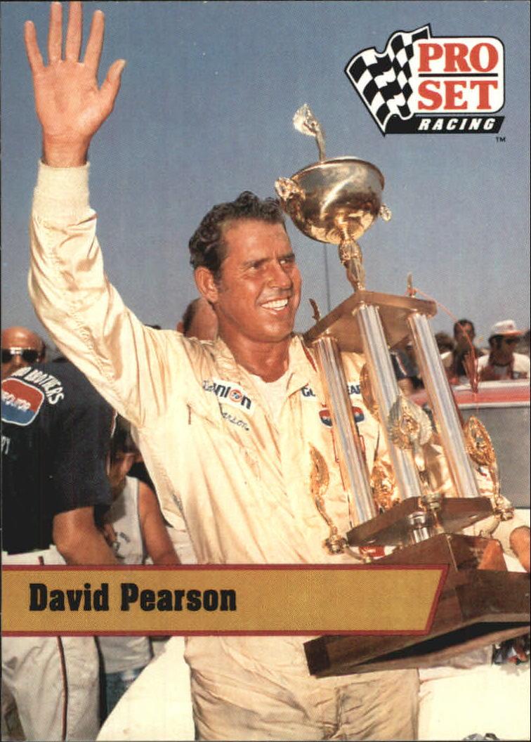 1991 Pro Set Legends #L28 David Pearson
