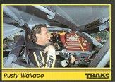 1991 Traks #2 Rusty Wallace