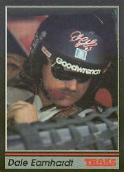 1991 Traks #3B Dale Earnhardt COR/Trademark reads/ than Sports Image, Inc. at racing venues