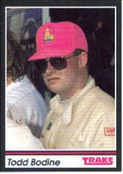 1991 Traks #34 Todd Bodine RC