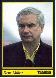 1991 Traks #39 Don Miller RC