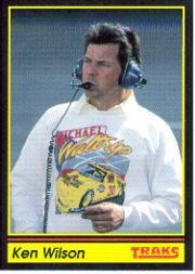 1991 Traks #76 Ken Wilson RC