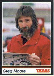 1991 Traks #92 Greg Moore RC