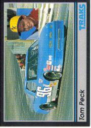 1991 Traks #96 Tom Peck RC
