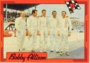 1991 Sports Legends Bobby Allison #BA7 Bobby Allison/David Pearson/Cale Yarborough/Lee Roy Yarborough/Donnie Allison