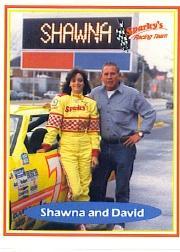 1991 Racing Concepts Shawna Robinson #8 Shawna Robinson/David Pearson