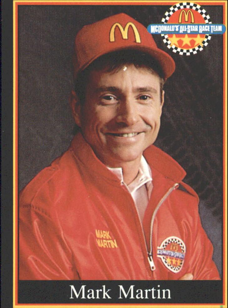 1991 Maxx McDonald's #2A Mark Martin ERR