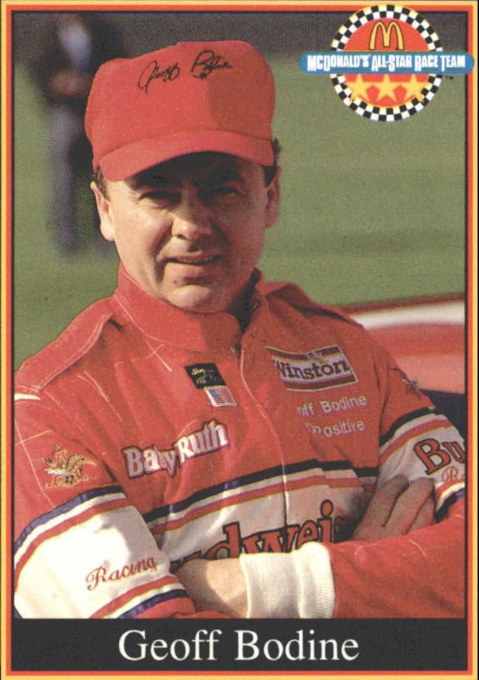 1991 Maxx McDonald's #3A Geoff Bodine ERR