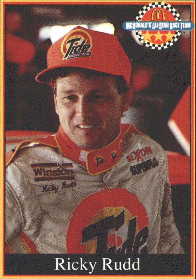 1991 Maxx McDonald's #7 Ricky Rudd