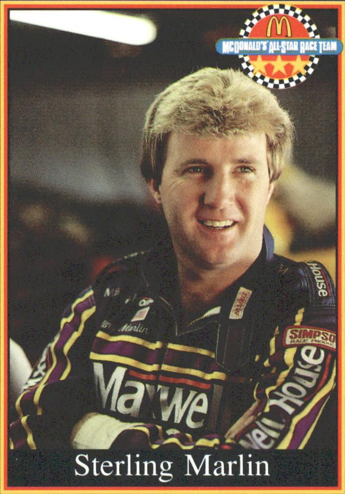 1991 Maxx McDonald's #14 Sterling Marlin