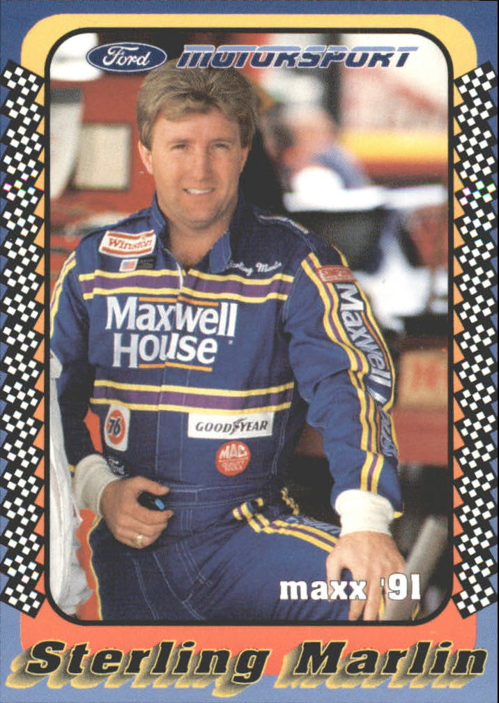 1991 Maxx Motorsport #4 Sterling Marlin