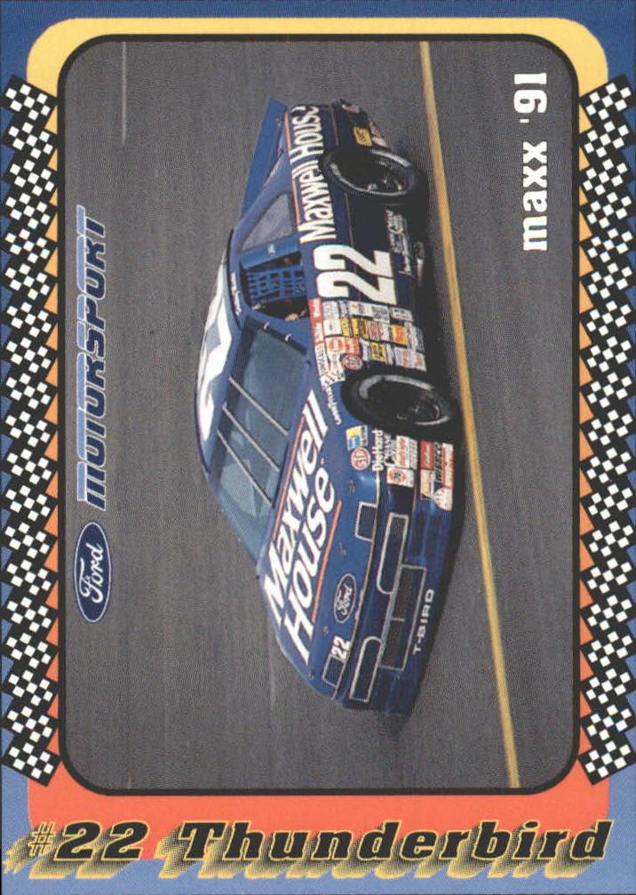 1991 Maxx Motorsport #32 Sterling Marlin's Car