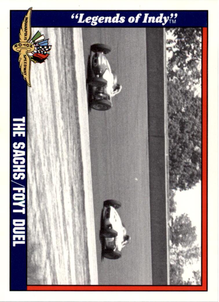 1991 Legends of Indy #6 Eddie Sachs/A.J.Foyt Cars