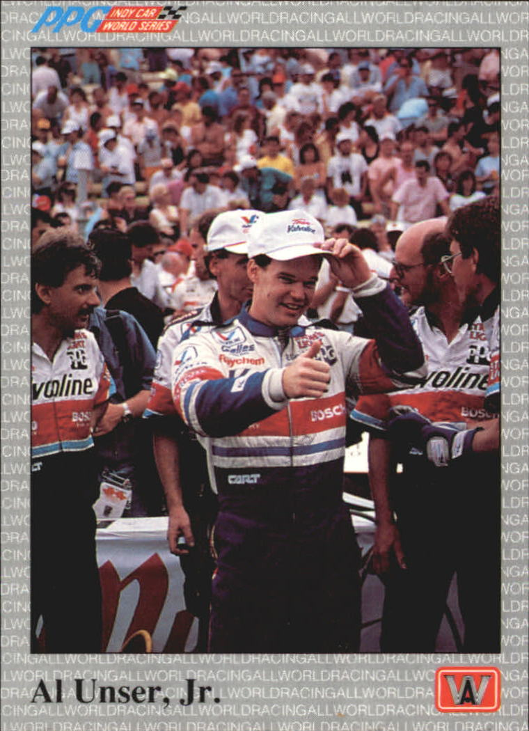 1991 All World Indy #1 Al Unser Jr.