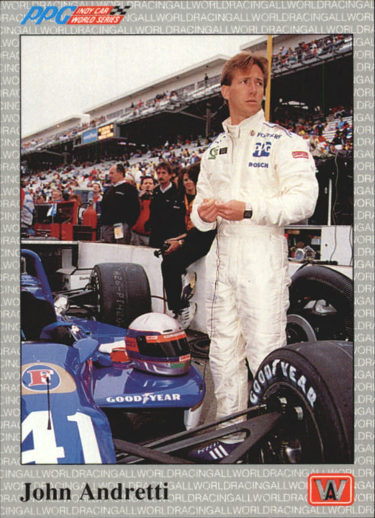 1991 All World Indy #4 John Andretti