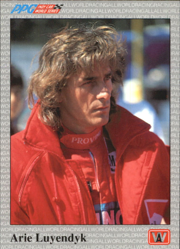1991 All World Indy #15 Arie Luyendyk