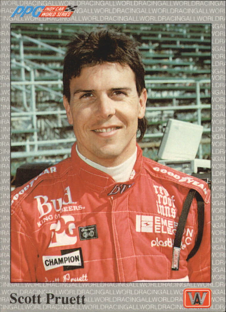 1991 All World Indy #51 Scott Pruett
