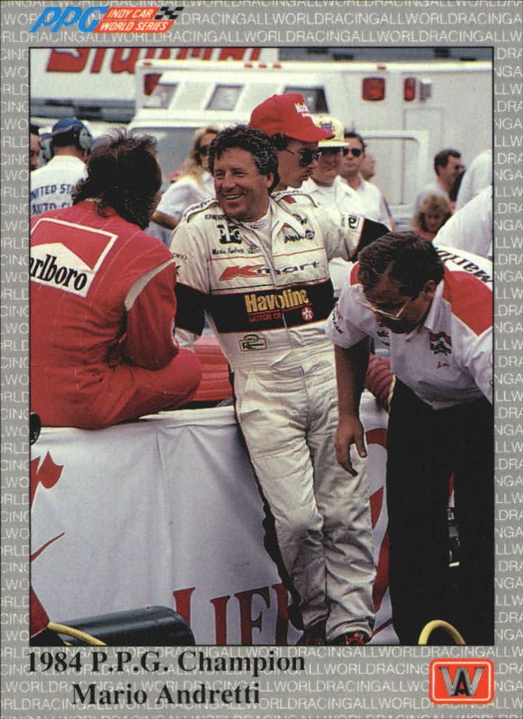 1991 All World Indy #96 Mario Andretti PPGC
