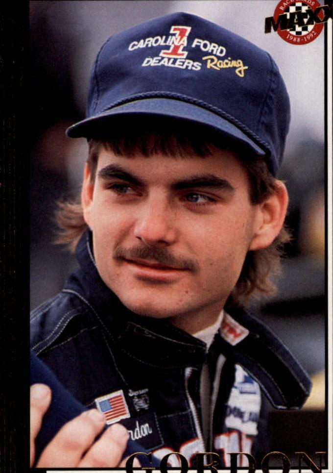 1992 Maxx Black #29 Jeff Gordon