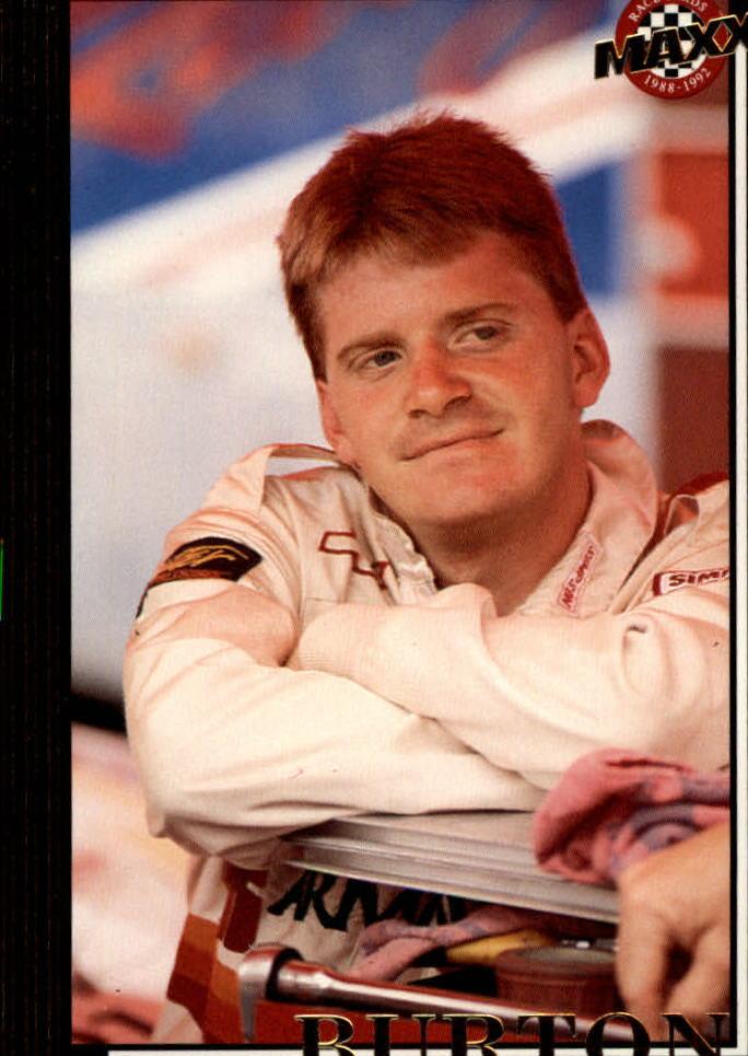 1992 Maxx Black #57 Jeff Burton