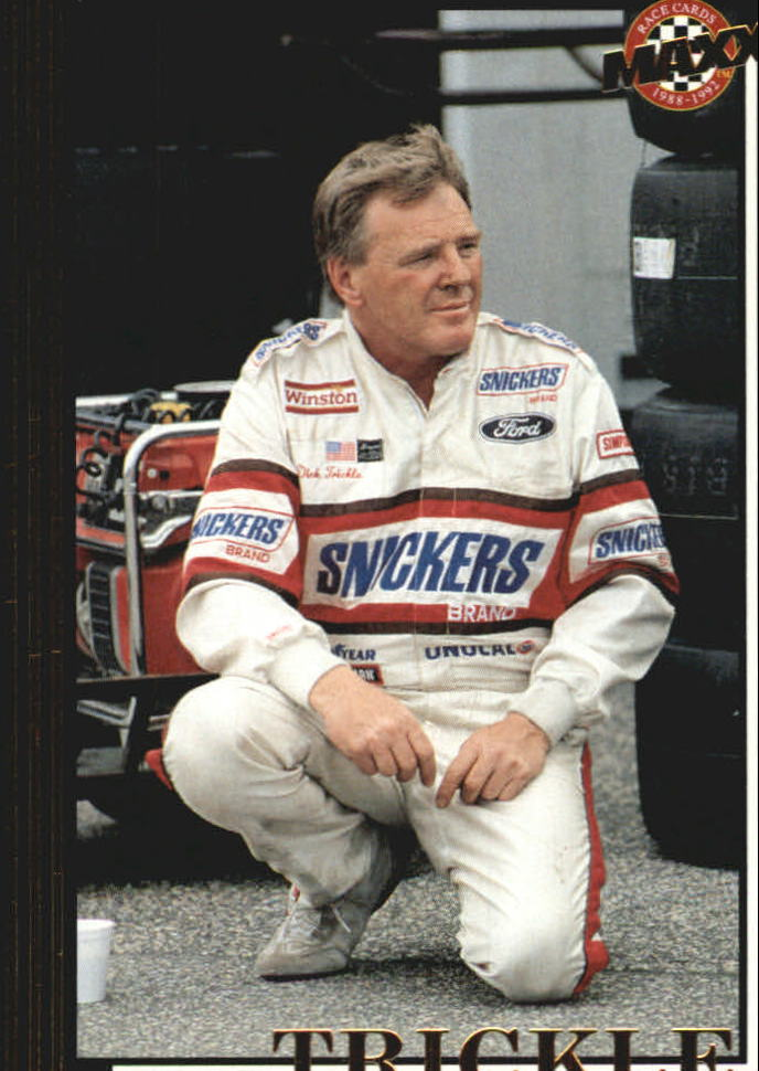1992 Maxx Black Update #U16 Dick Trickle