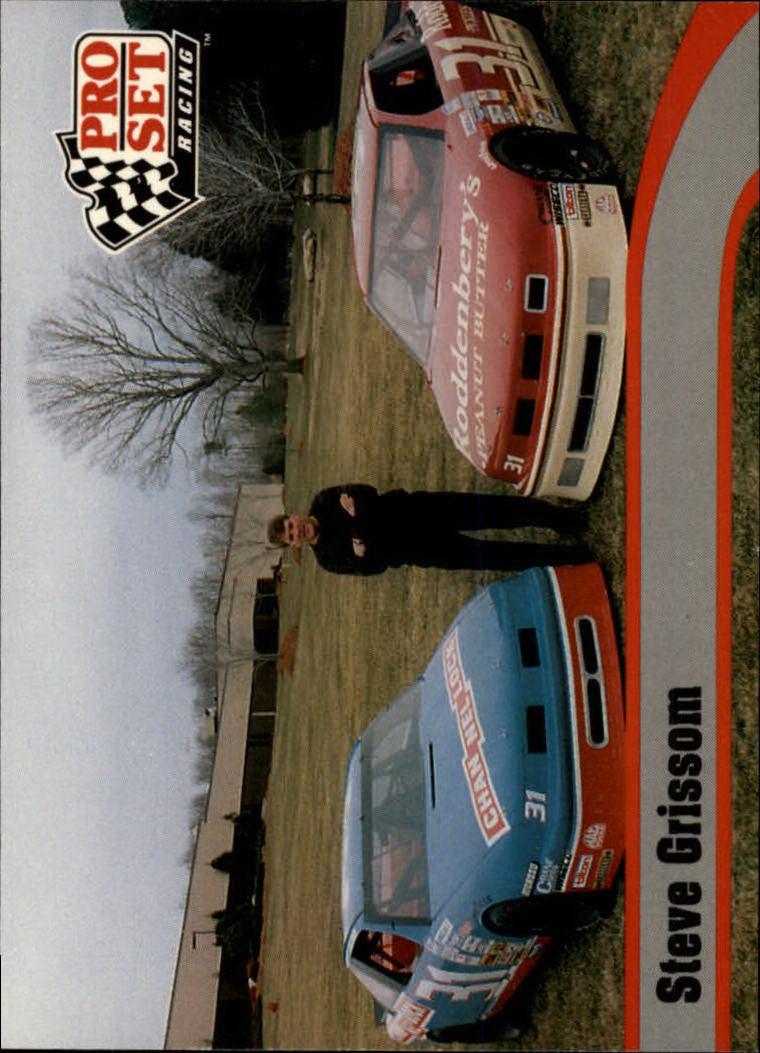 1992 Pro Set #3 Steve Grissom