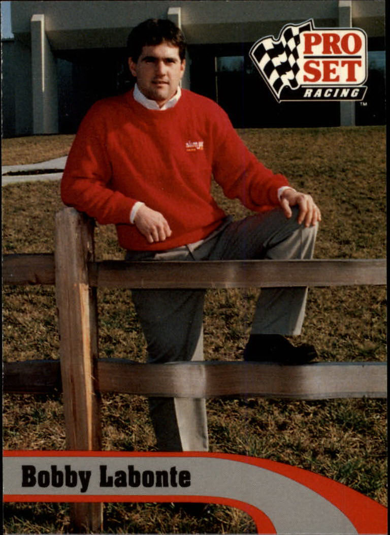 1992 Pro Set #6 Bobby Labonte