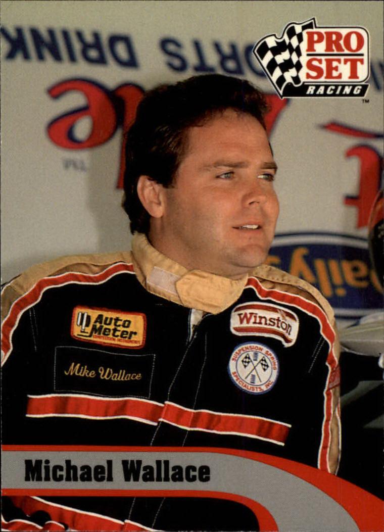 1992 Pro Set #10 Mike Wallace