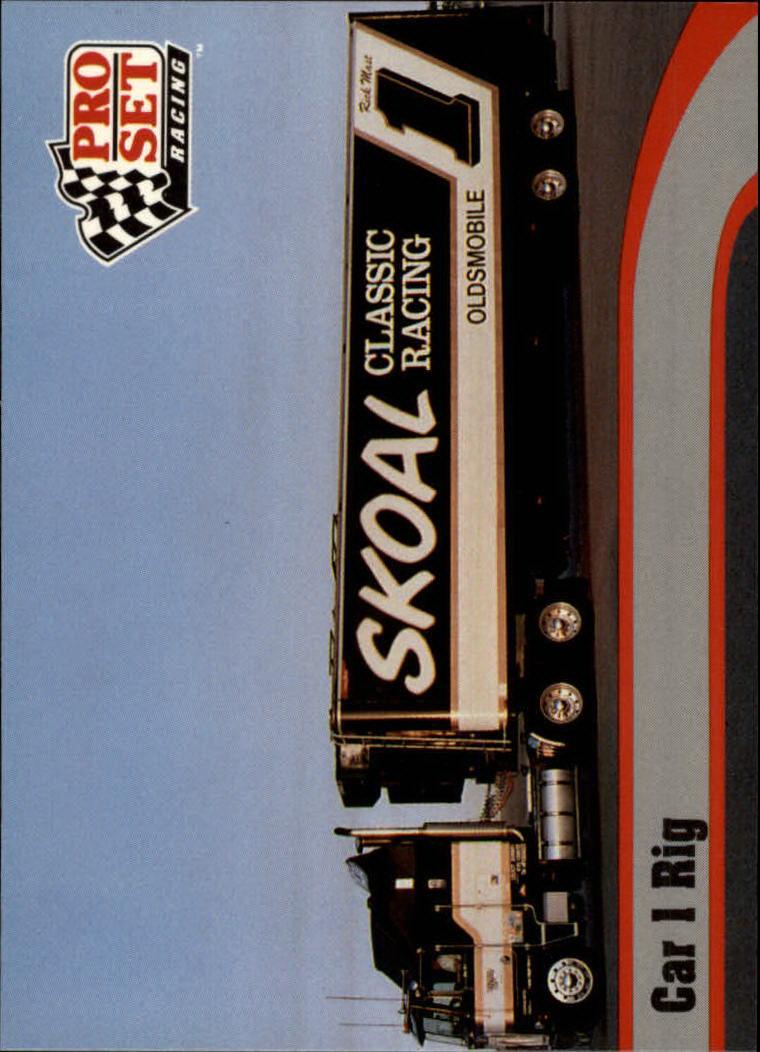 1992 Pro Set #11 Rick Mast's Transporter