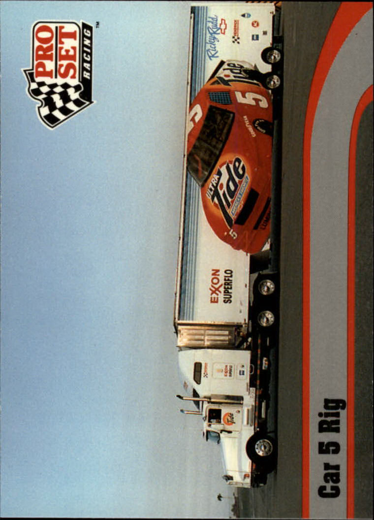 1992 Pro Set #14 Ricky Rudd's Transporter