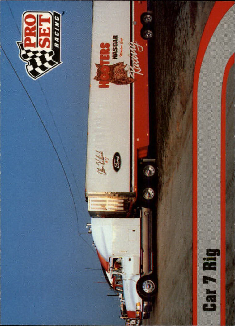 1992 Pro Set #15 Alan Kulwicki's Transporter