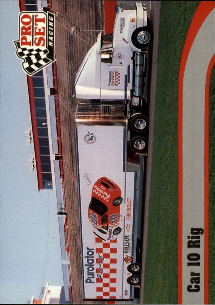 1992 Pro Set #16 Derrike Cope's Transporter
