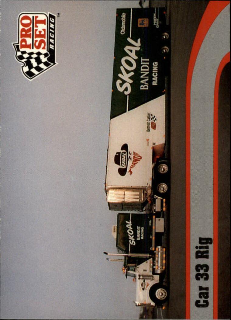 1992 Pro Set #17 Harry Gant's Transporter