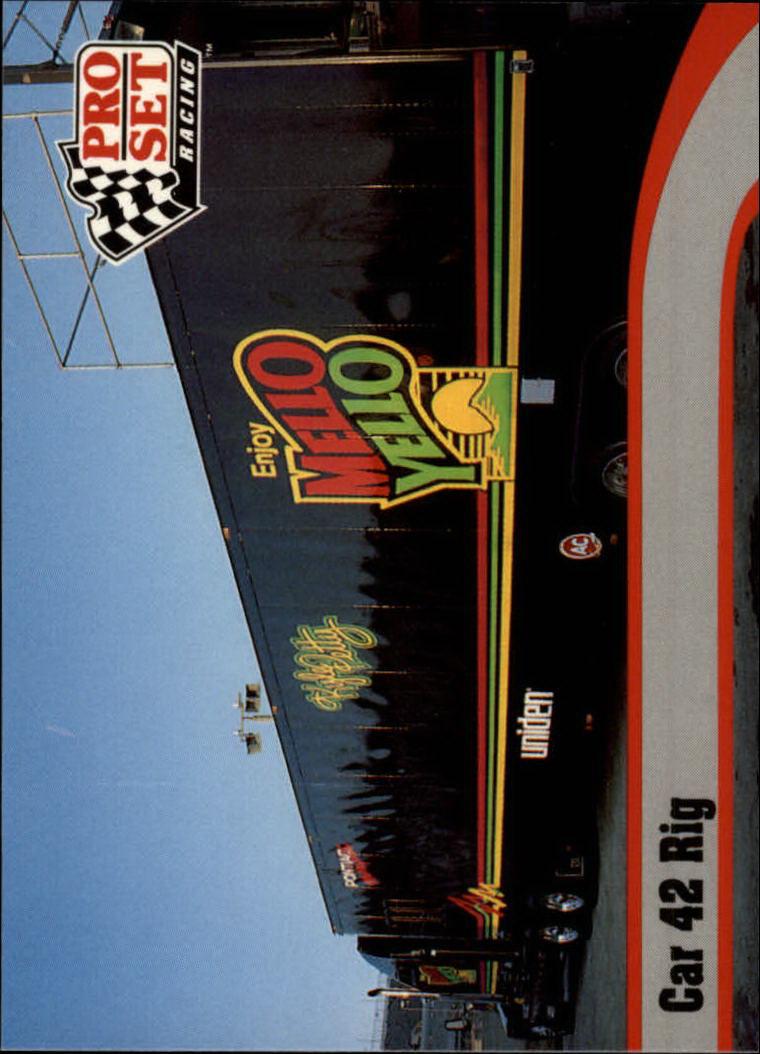 1992 Pro Set #18 Kyle Petty's Transporter