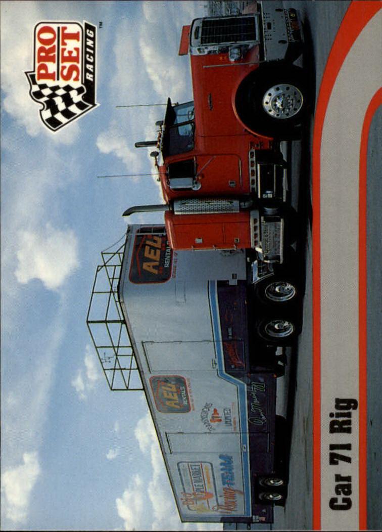 1992 Pro Set #19 Dave Marcis' Transporter