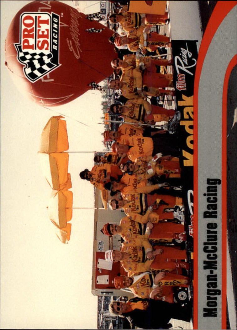 1992 Pro Set #20 Ernie Irvan w/crew