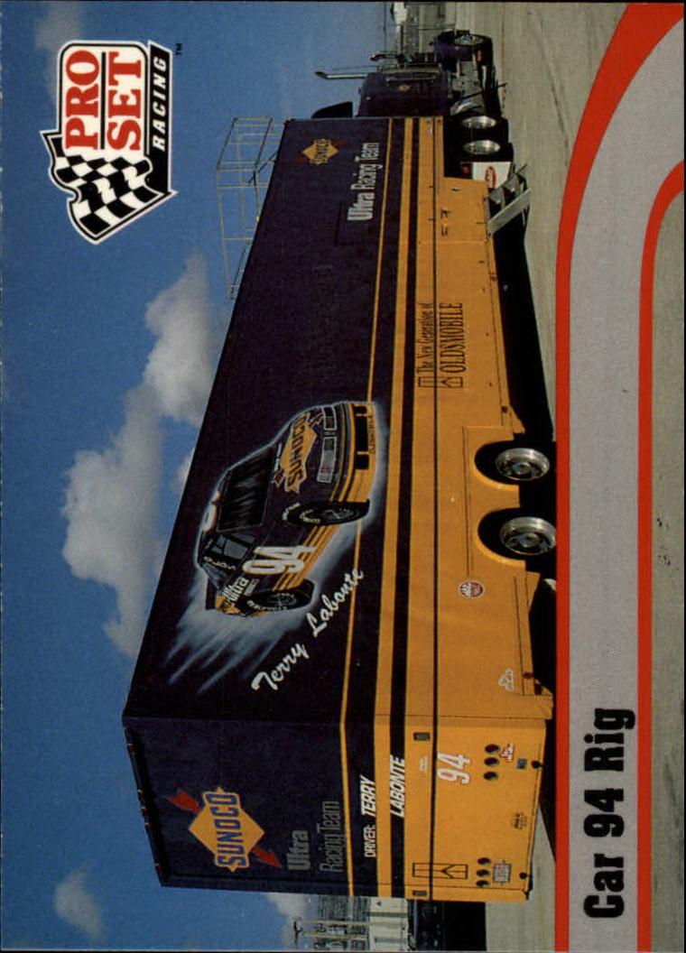 1992 Pro Set #21 Terry Labonte's Transporter