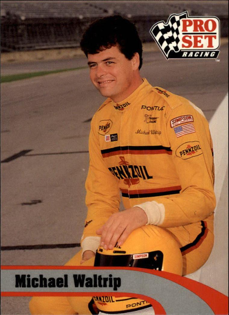 1992 Pro Set #23 Michael Waltrip
