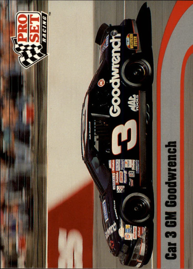 1992 Pro Set #59 Dale Earnhardt's Car