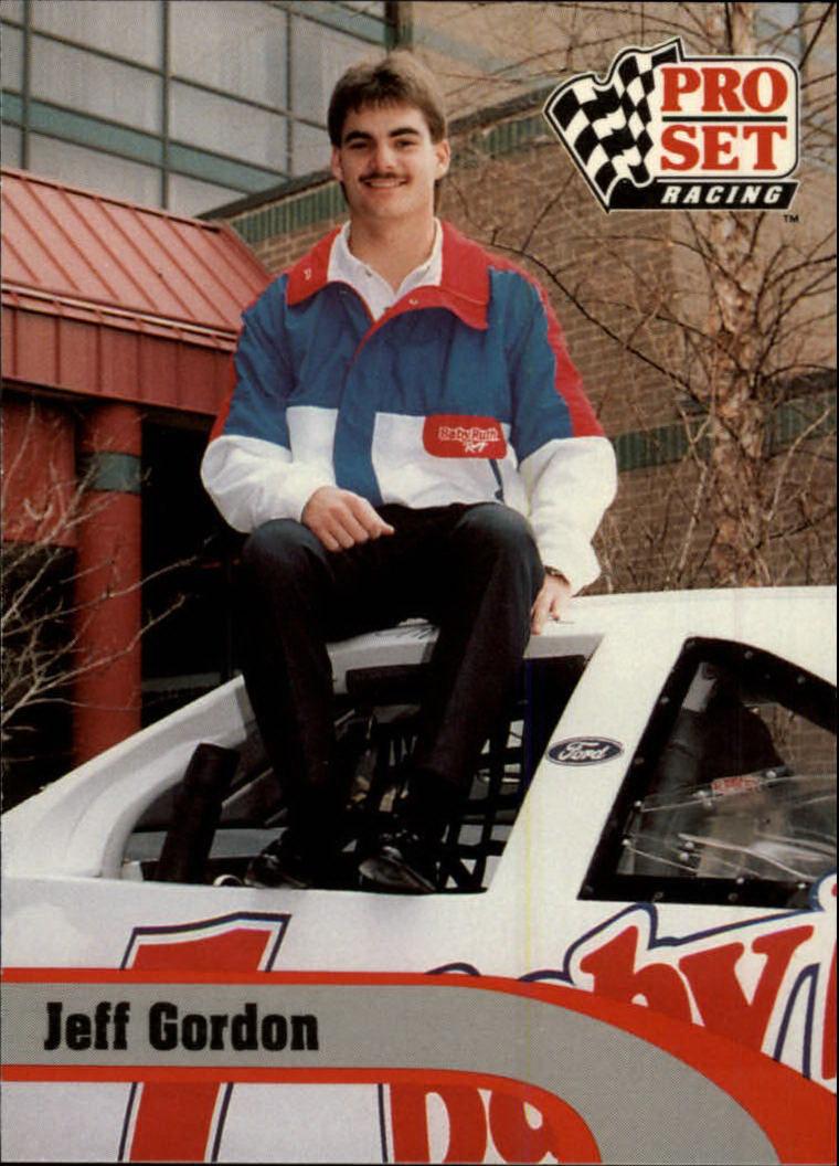 1992 Pro Set #128 Jeff Gordon