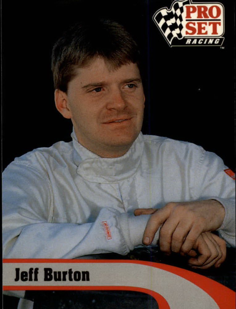 1992 Pro Set #135 Jeff Burton