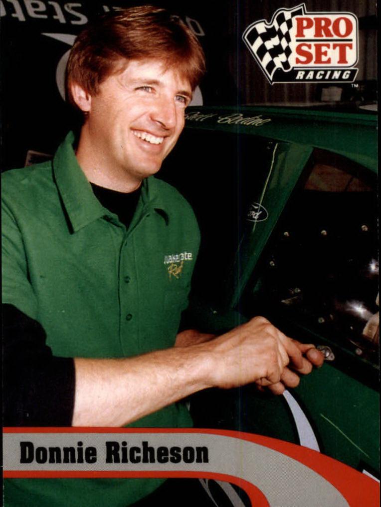 1992 Pro Set #185 Donnie Richeson RC